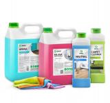 Моющие средства для уборки помещений (Клининг)