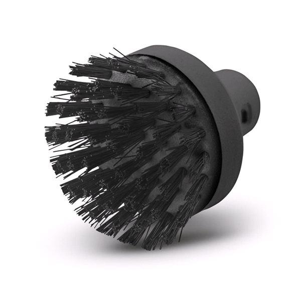 Большая круглая щетка Karcher для пароочистителей Karcher