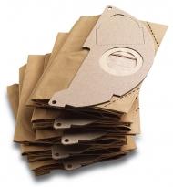 Бумажные фильтр-мешки для пылесососв серии (WD 2.200, MV 2)