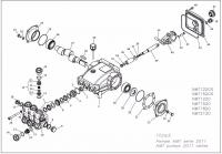 Помпа высокого давления HAWK NMT 1520R